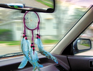 car dream catcher