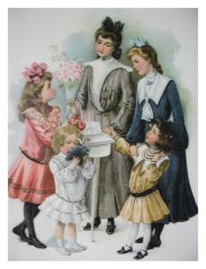 girls 1890s
