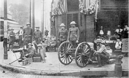 omaha 1919 troops