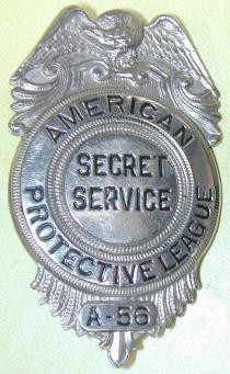 apl badge secret service