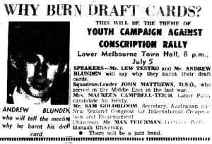 card burnaustralia 1966