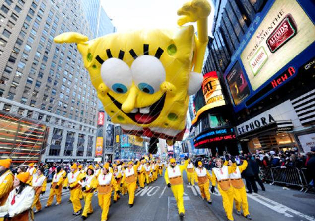 parade spongebob 2009