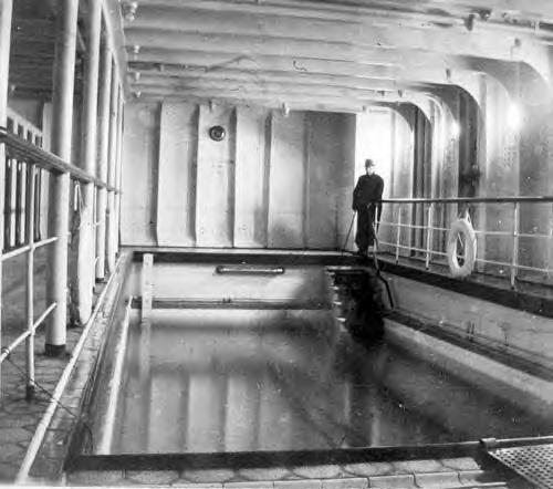 titanic heated pool