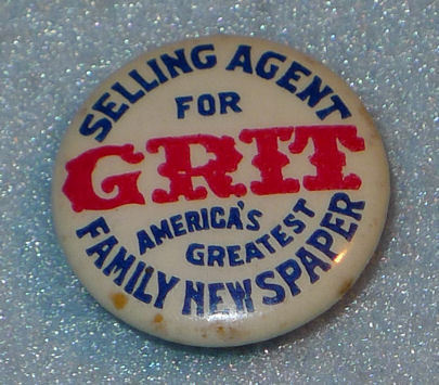 1930s grit pin